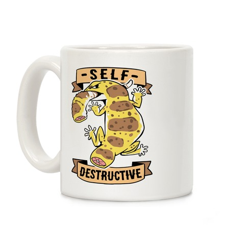 Self Destructive Coffee Mug