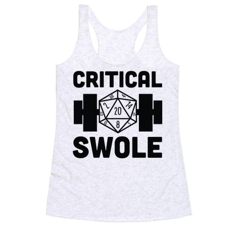 Critical Swole Racerback Tank Top