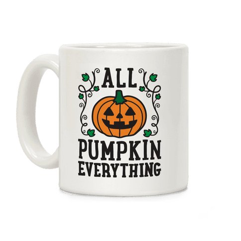 All Pumpkin Everything Coffee Mug