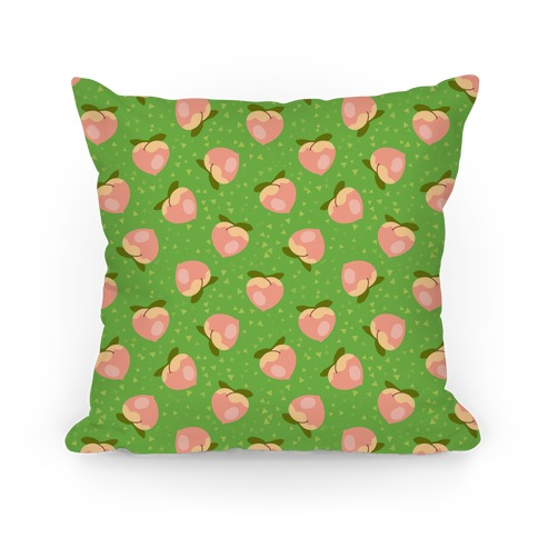 Peach Pattern Pillow