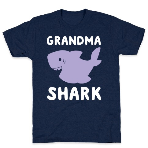 Grandma Shark (1 of 5 set) T-Shirt