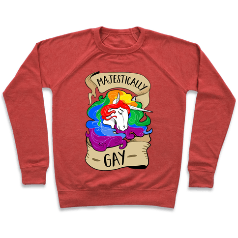 Majestically Gay Pullover