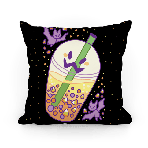 Toil and Trouble Bubble Tea Pillow