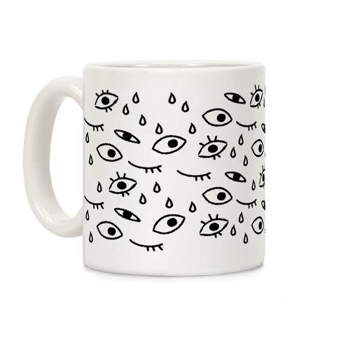 Eyes Pattern Coffee Mug