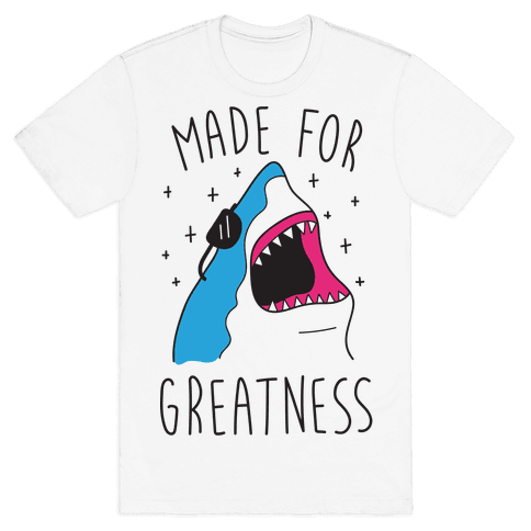 Made For Greatness (CMYK) Mens T-Shirt