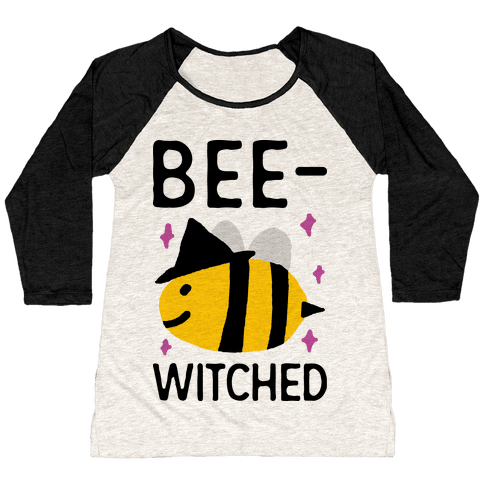 Bee Witched Baseball Tee
