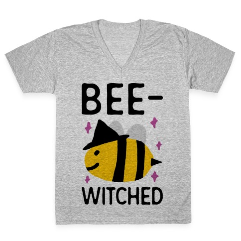 Bee Witched V-Neck Tee Shirt