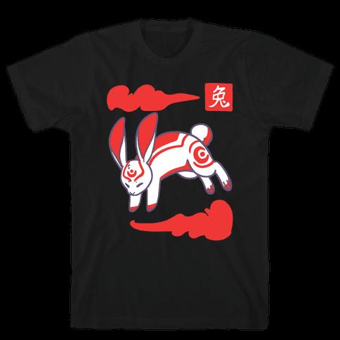 Rabbit - Chinese Zodiac Mens T-Shirt