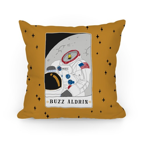 Buzz Aldrin Bee Pillow