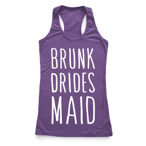 Brunk Dridesmaid (White)