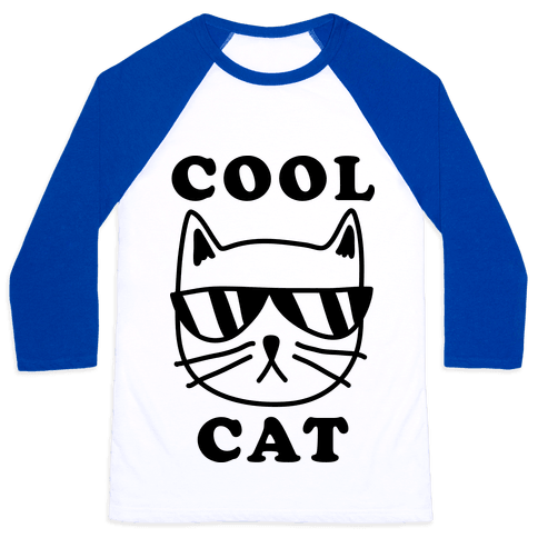 Cool Cat Baseball Tee