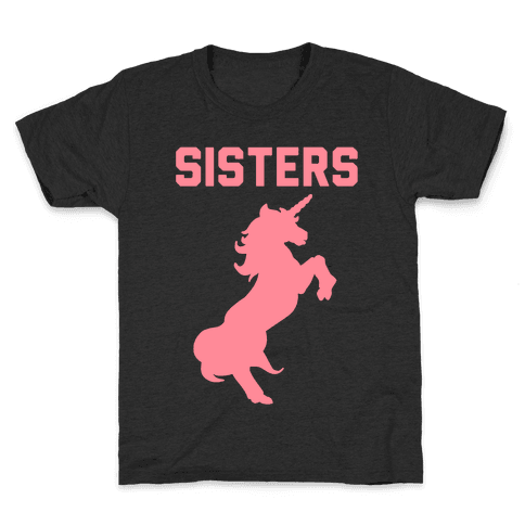 Unicorn Sisters Pair 2 Kids T-Shirt