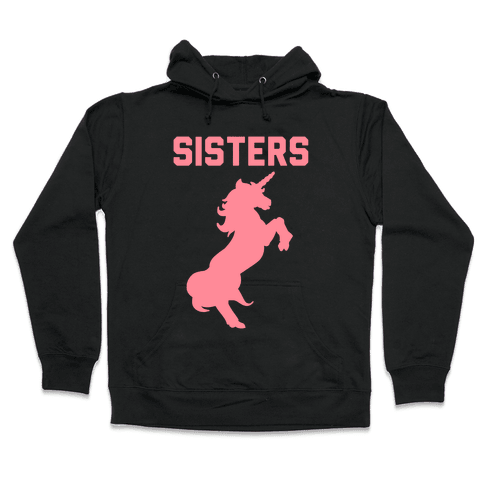 Unicorn Sisters Pair 2 Hooded Sweatshirt