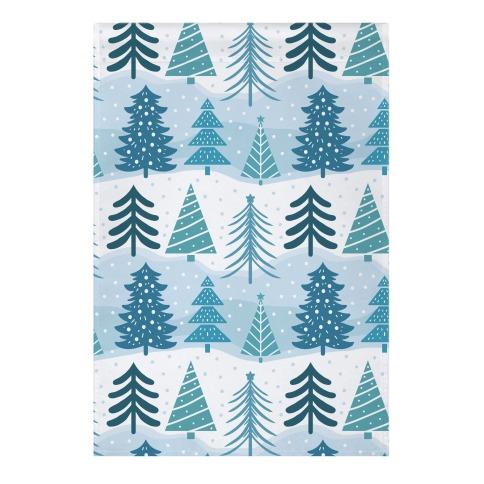 Christmas Tree Pattern Garden Flag