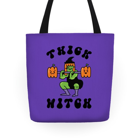 Thick Witch (Workout Witch) Tote