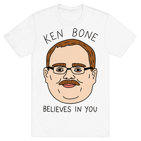 Ken Bone Believes In You Mens T-Shirt