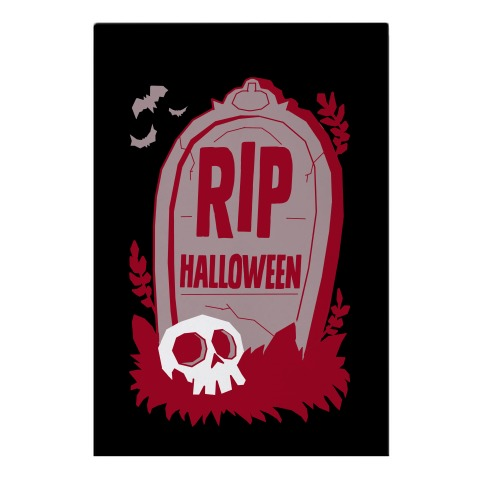 RIP Halloween Garden Flag