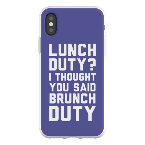 Brunch Duty Phone Flexi-Case