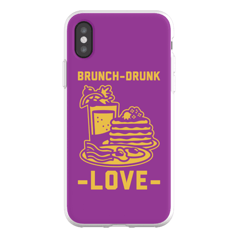 Brunch-Drunk Love Phone Flexi-Case