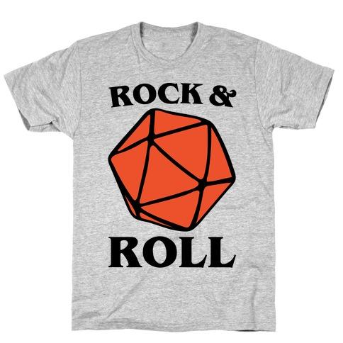 Rock and Roll D & D Parody T-Shirt