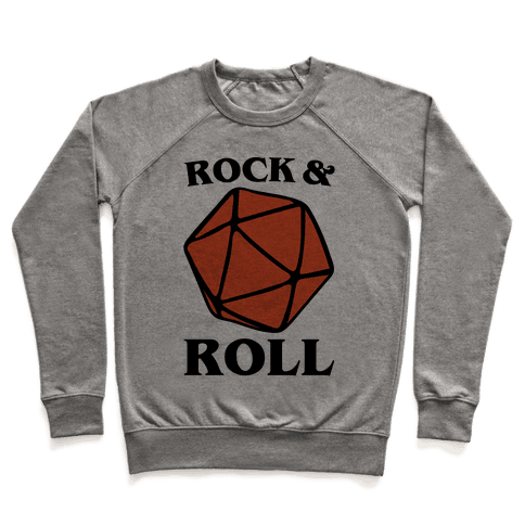 Rock and Roll D & D Parody Pullover