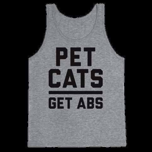 Pet Cats Get Abs Tank Top