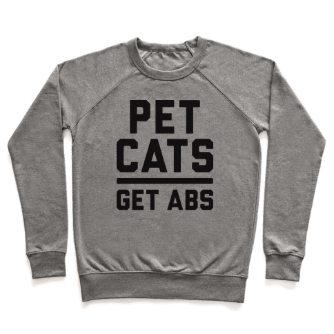 Pet Cats Get Abs Pullover