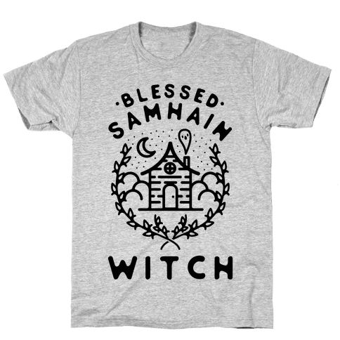 Blessed Samhain Witches Mens/Unisex T-Shirt