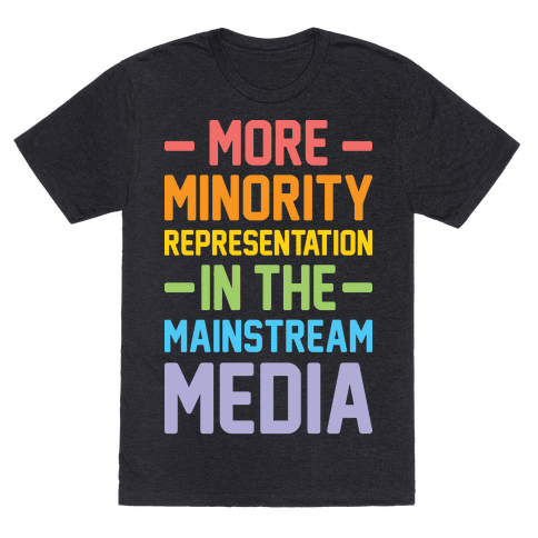 More Minority Representation In The Mainstream Media