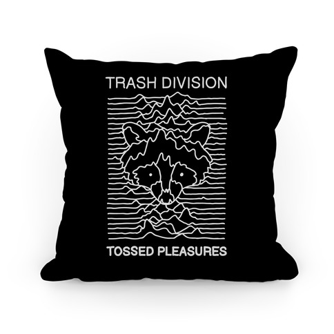 Trash Division Pillow