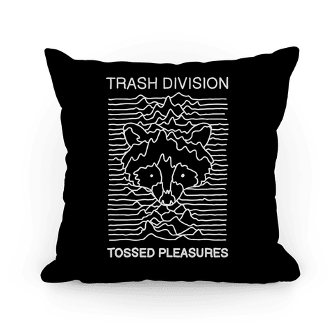 Trash Division Pillow