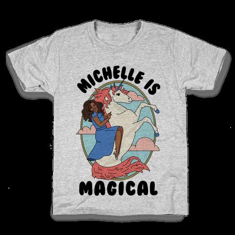 Michelle Is Magical Kids T-Shirt