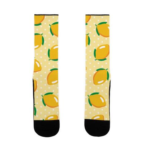Whole Lemon Pattern Sock