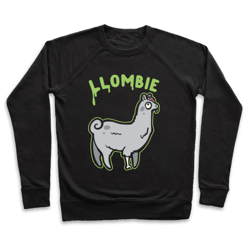 Llombie White Print Pullover