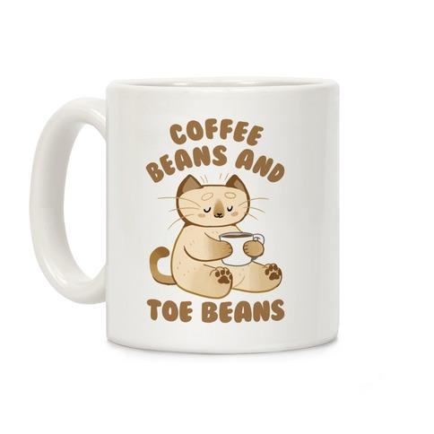 Coffee Beans and Toe Beans Coffee Mug