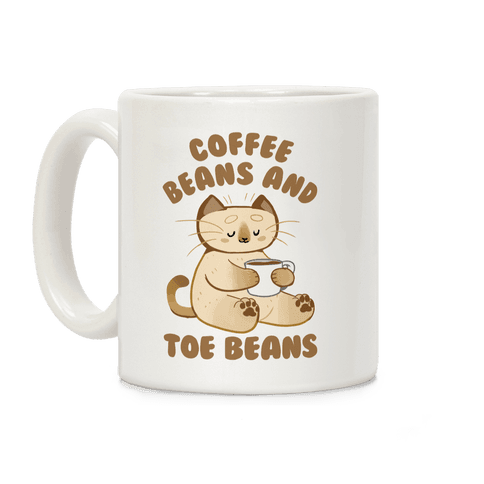 Coffee Beans and Toe Beans Coffee Mug