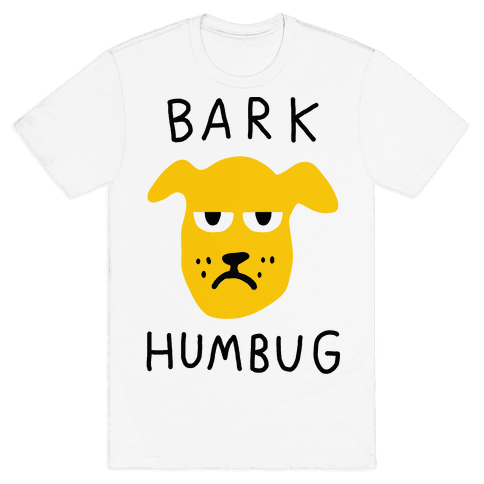 Bark Humbug Mens T-Shirt