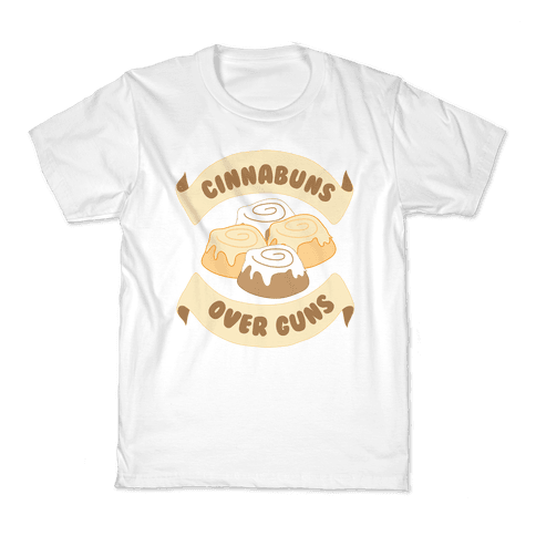 Cinnabuns Over Guns Kids T-Shirt