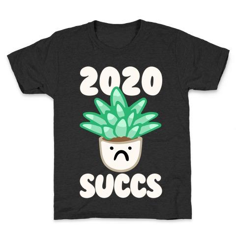 2020 Succs White Print Kids T-Shirt
