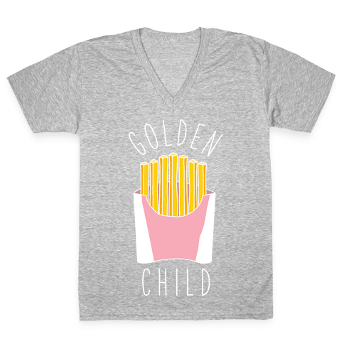 Golden Child Alt V-Neck Tee Shirt
