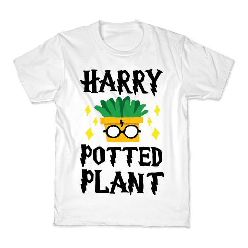 Harry Potted Plant Kids T-Shirt