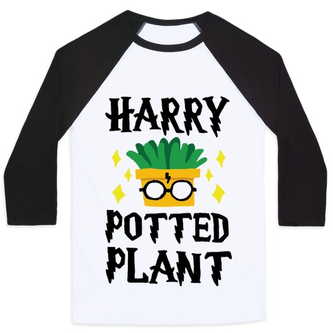 Harry Potted Plant Baseball Tee