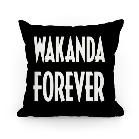 Wakanda Forever Pillow
