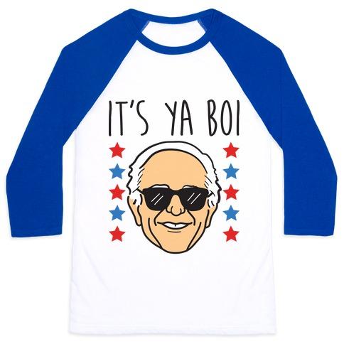 It's Ya Boi Bernie Baseball Tee