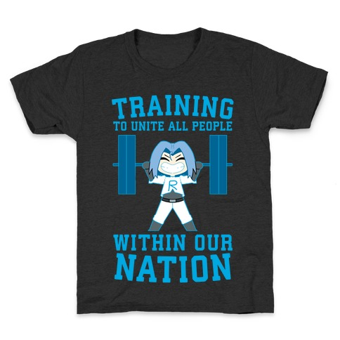 Training To Unite All People Within Our Nation Kids T-Shirt