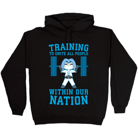 Training To Unite All People Within Our Nation Hooded Sweatshirt