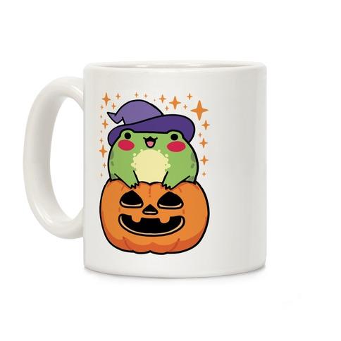 Cute Halloween Frog Coffee Mug