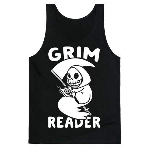 Grim Reader Tank Top