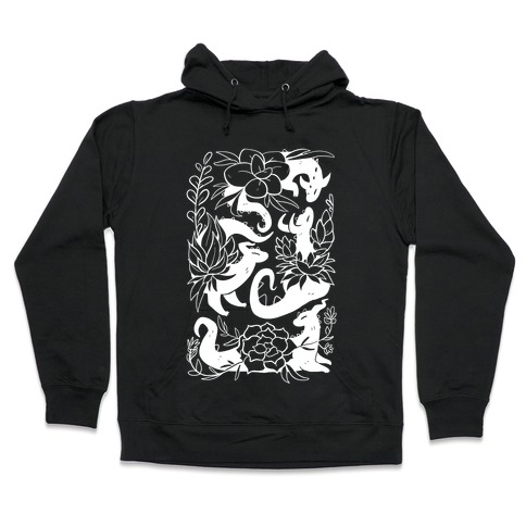 Succulent Dragons Hooded Sweatshirt
