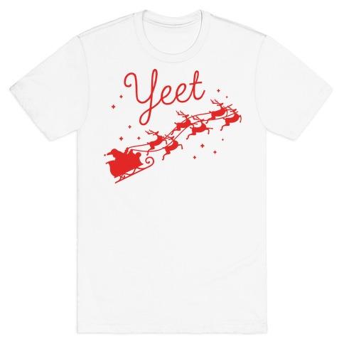 Yeet Santa Sleigh T-Shirt